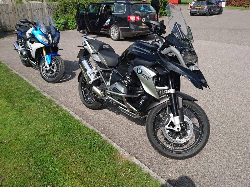 2016 BMW R1200GS & R1200RS Test Ride